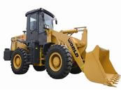 Wheel Loader with Cummins Engine